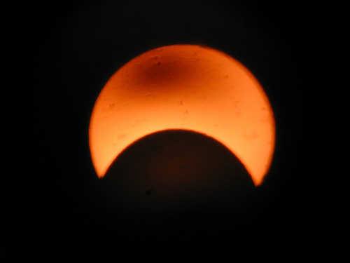 Eclipsa de soare ÎN DIRECT