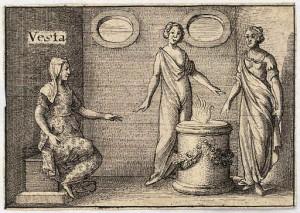 Vesta - roman mytology
