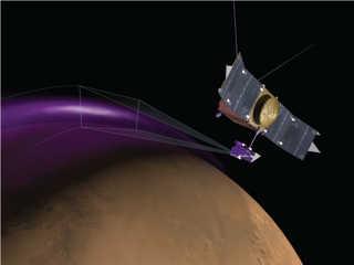 MAVEN a detectat aurore și nori misterioși pe Marte