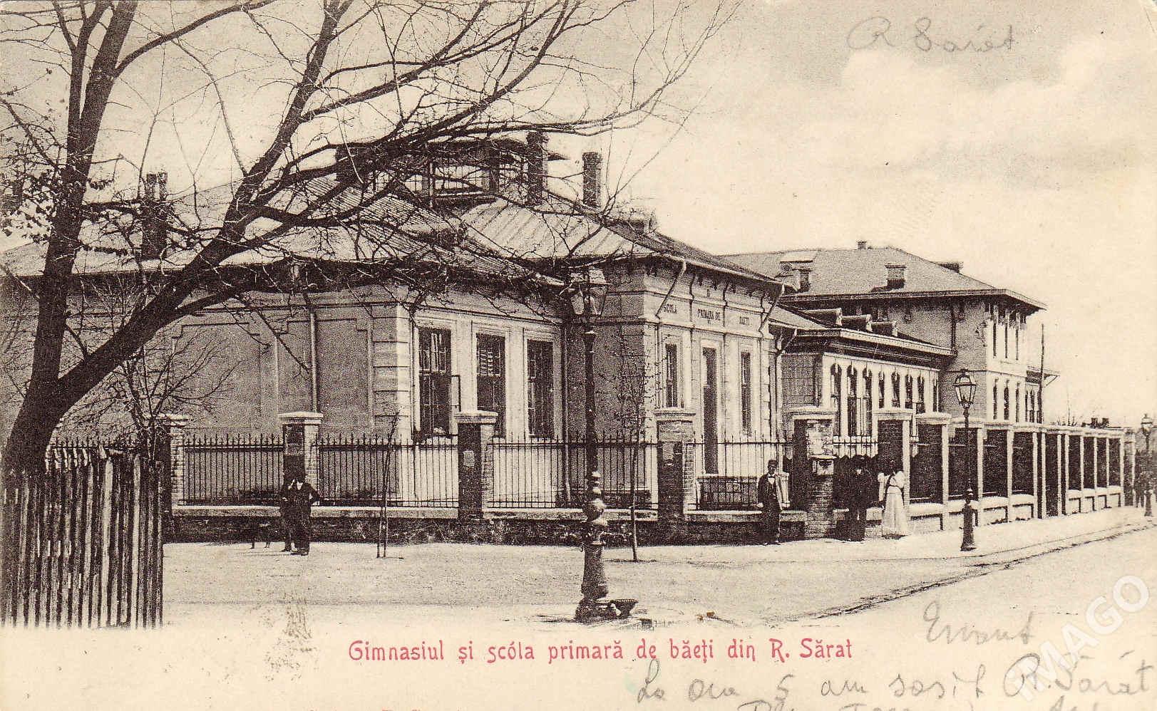 Gimnaziul și  școala primară de băieți