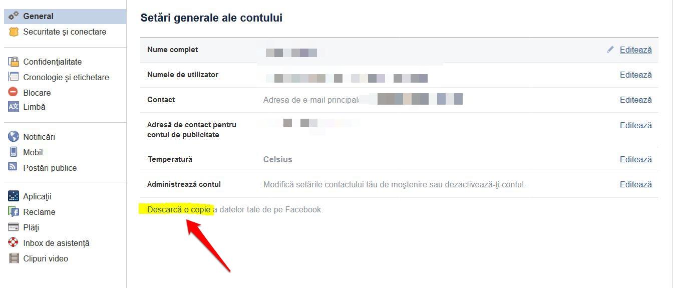 Ce știe Facebook despre mine?