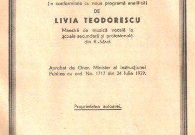 De-ai noștri! – Livia Teodorescu – Curs de muzică pentru clasa a IV-a Secundară (2)