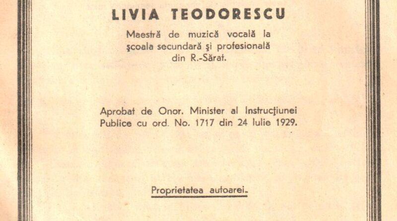 De-ai noștri! – Livia Teodorescu – Curs de muzică pentru clasa a IV-a Secundară (3)