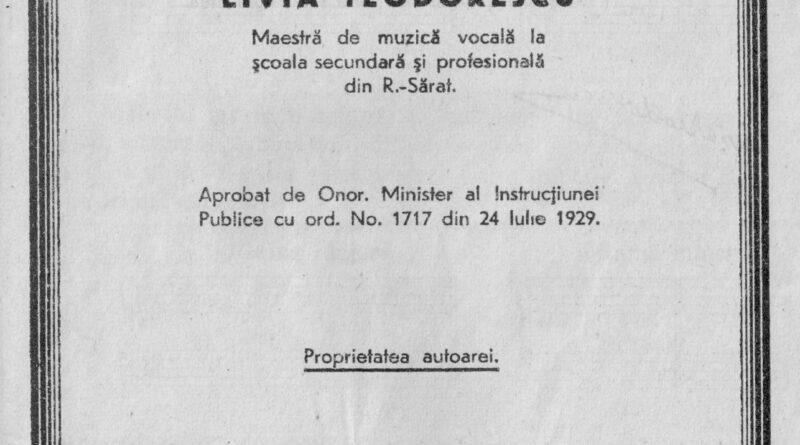 De-ai noștri! – Livia Teodorescu – Manual de muzică pentru clasa a V-a Secundară (1)